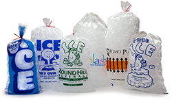 Custom Ice Bags - Bag Of Ice Cubes PNG