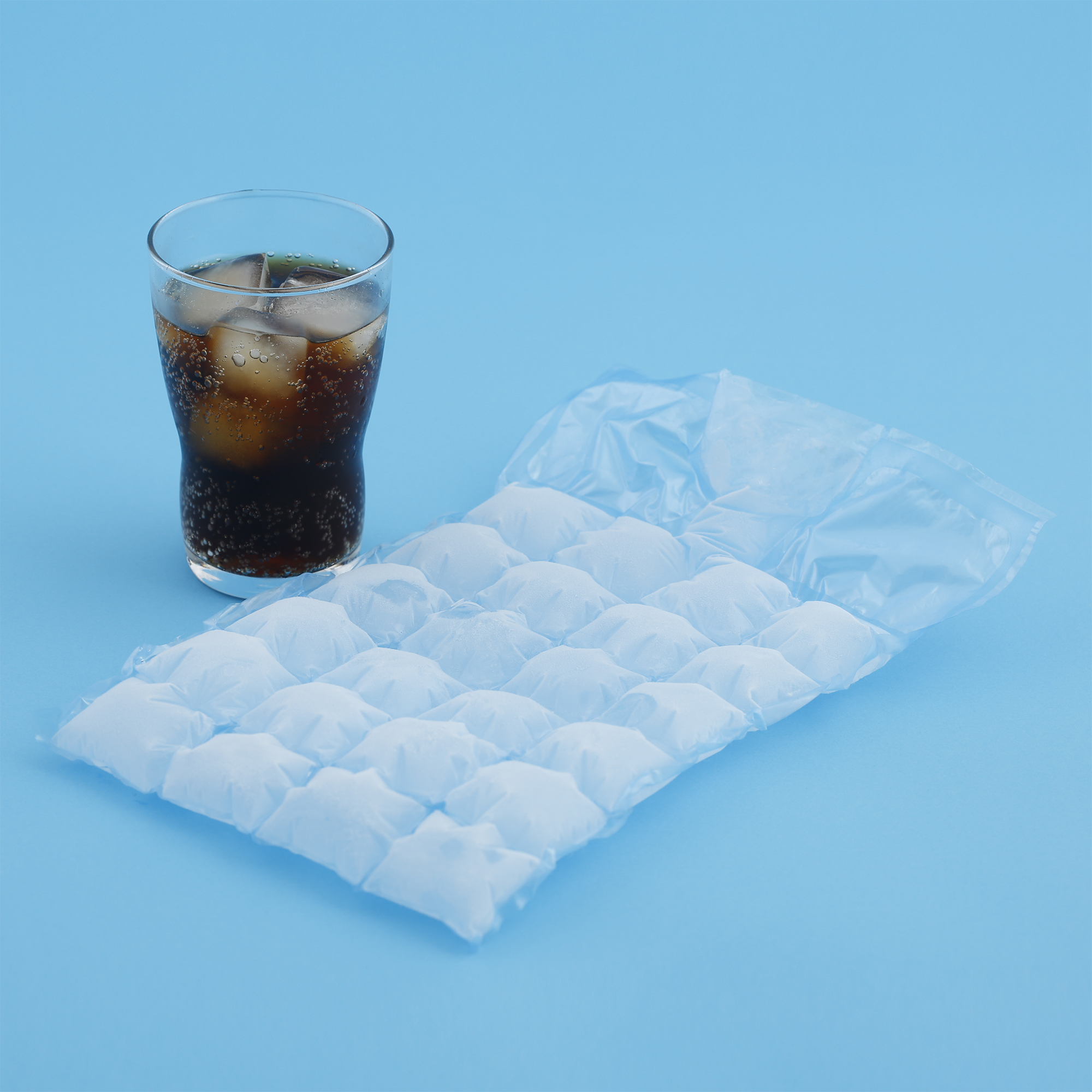 Ice Cube Bag - Bag Of Ice Cubes PNG