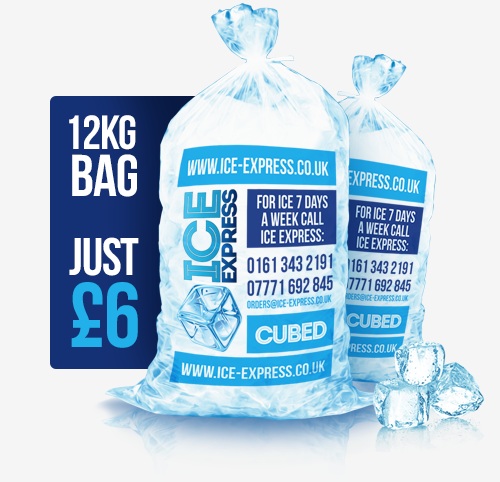 Ice Cube Delivery - Bag Of Ice Cubes PNG