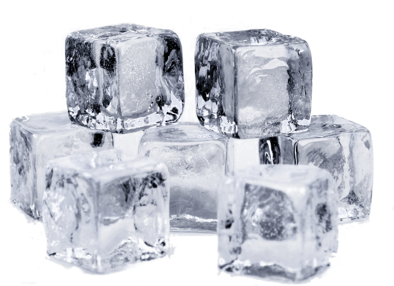 Ice Cubes/Blocks and Flakes - Bag Of Ice Cubes PNG