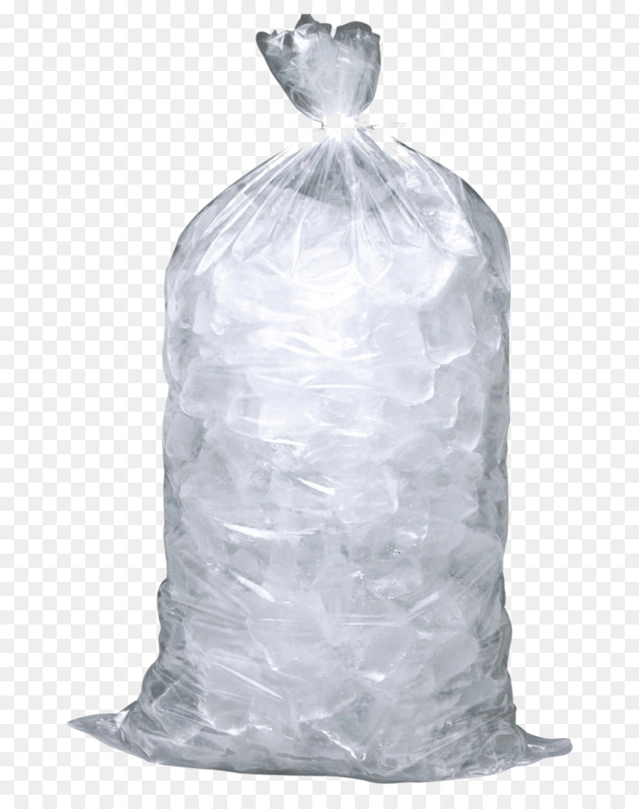 Ice Packs Bag Ice Makers Restaurant - ice cubes - Bag Of Ice Cubes PNG