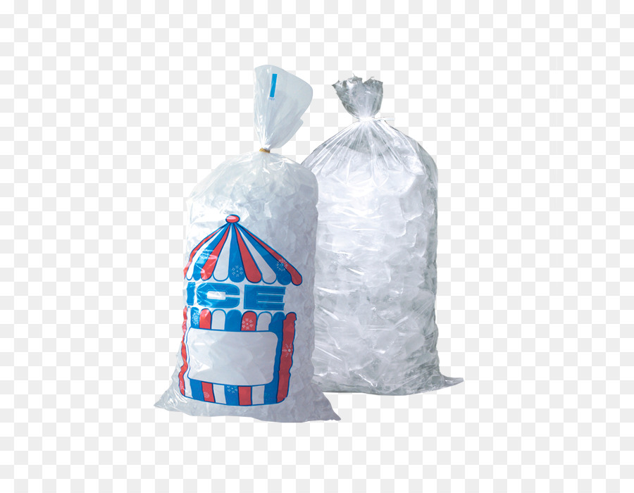 Ice Packs Plastic bag - ice cubes - Bag Of Ice Cubes PNG