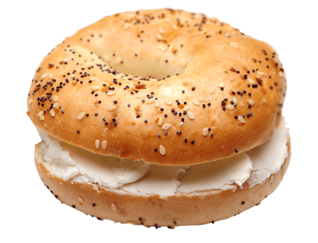 Bagel And Cream Cheese PNG
