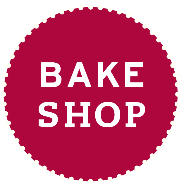BAKESHOP-circle-logo-red PlusPng.com  - Bake Shop PNG