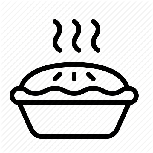 baked, baking, food, hearty, ios, pastry, pie icon - Baked Pie PNG