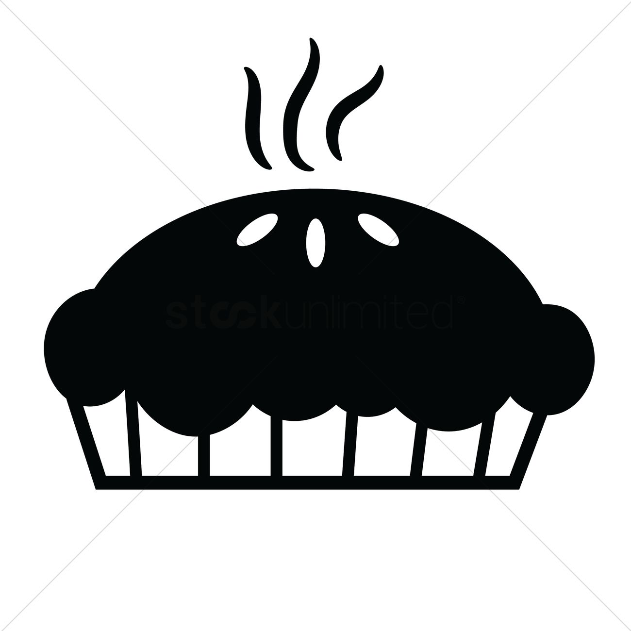 baked pie vector graphic - Baked Pie PNG