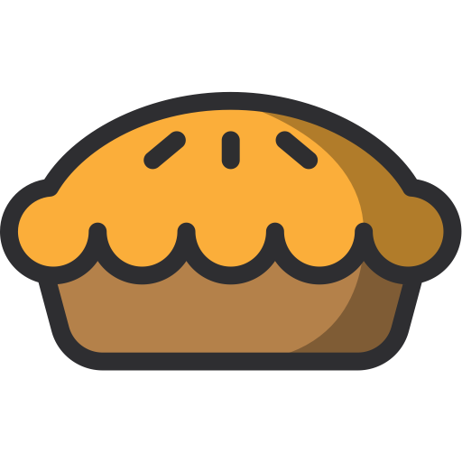 PNG ICO PlusPng.com  - Baked Pie PNG