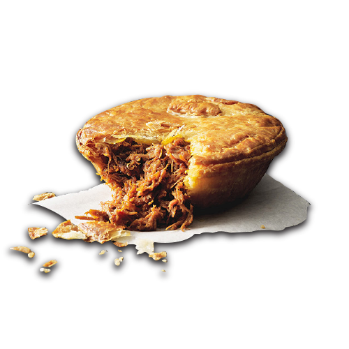 Pulled Pork Pie PlusPng.com  - Baked Pie PNG