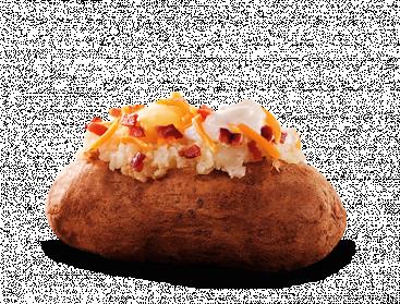 Loaded Baked Potato - Baked Potato PNG HD