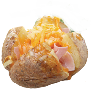 Our speciality: jacket potatoes! - Baked Potato PNG HD