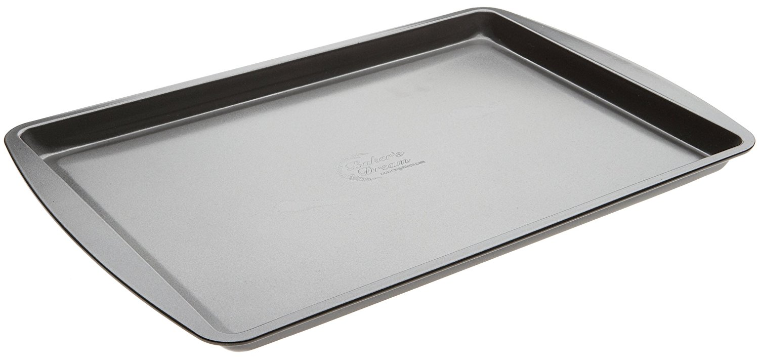 Amazon pluspng.com: Range Kleen B01SC Grey, Non-Stick, Small Cookie Sheet,  10.75x15-Inch: Baking Sheets: Kitchen u0026 Dining - Baking Tray PNG
