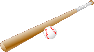 Baseball bat PNG - Ball And Bat PNG