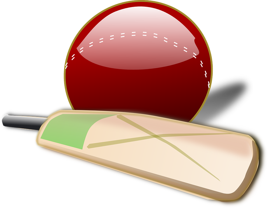 cricket bat ball britain british game player - Ball And Bat PNG