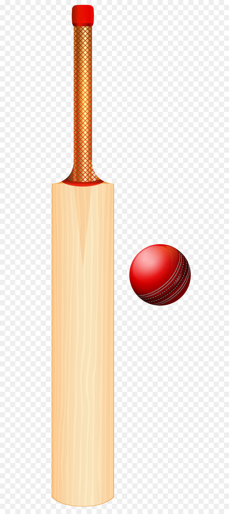 Cricket bat Batting Clip art - Cricket Set PNG Transparent Clip Art Image - Ball And Bat PNG