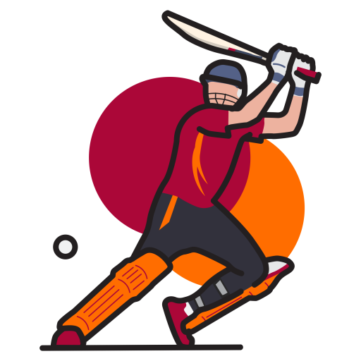 Sport, Game, Batsman, Cricket, Player, Bat, Ball, Pad, - Ball And Bat PNG