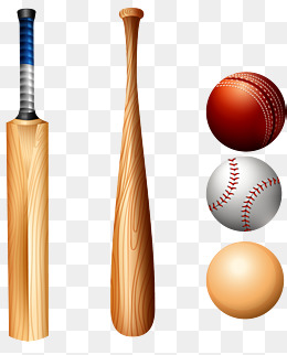 vector hand-painted baseball, Vector, Hand Painted, Baseball PNG and Vector - Ball And Bat PNG