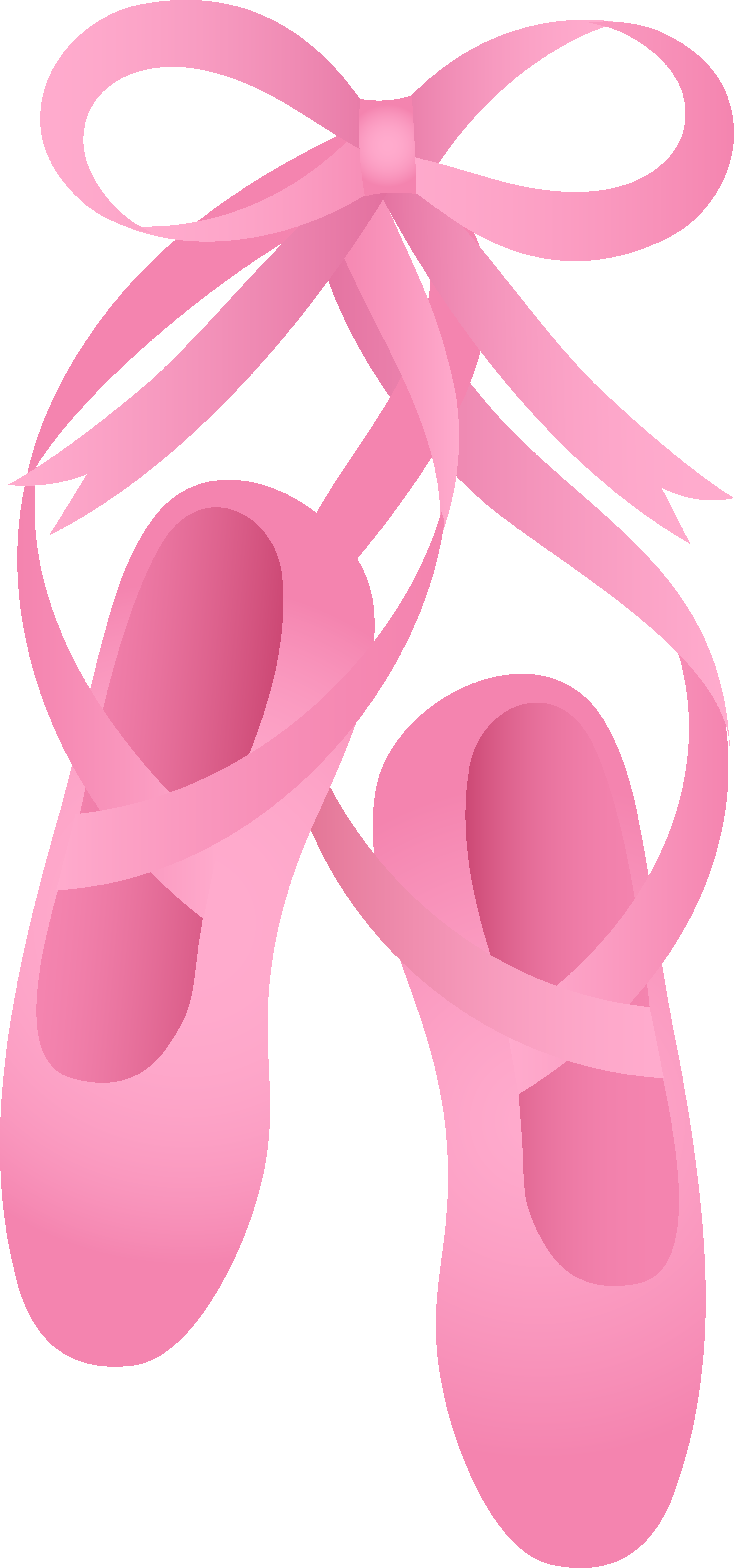 Pink Ballet Slippers - Ballet Shoes PNG HD