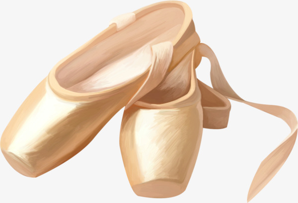 Colorful Dance Shoe Clipart -