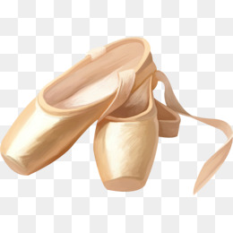 Ballet Slippers PNG HD - 122021