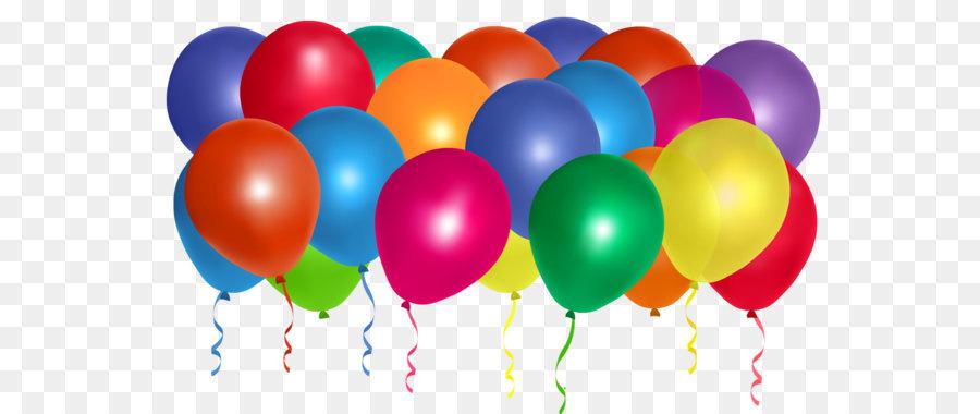 Balloon Birthday Clip art - Balloons Bunch PNG Clipart - Balloon Bunch PNG