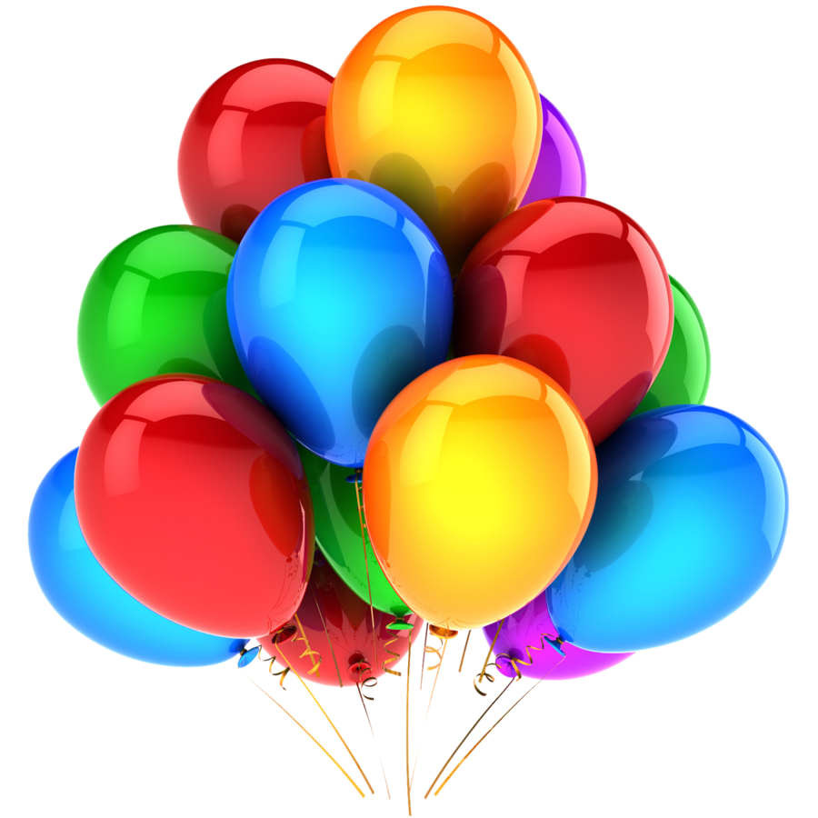Balloon bunch png image - Balloon Bunch PNG