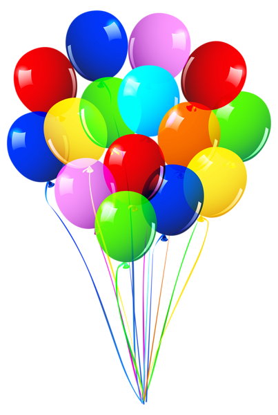 bunch of colorful balloons, 7