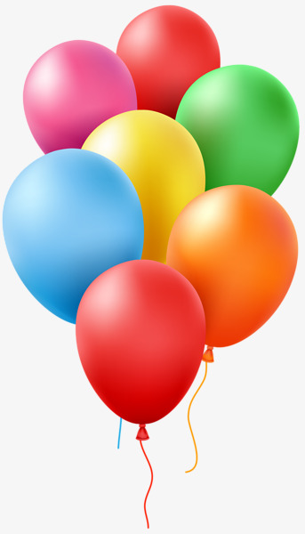 bunch of colorful balloons, 7 Balloons, Colored Balloons, Round Balloon PNG  Image and - Balloon Bunch PNG