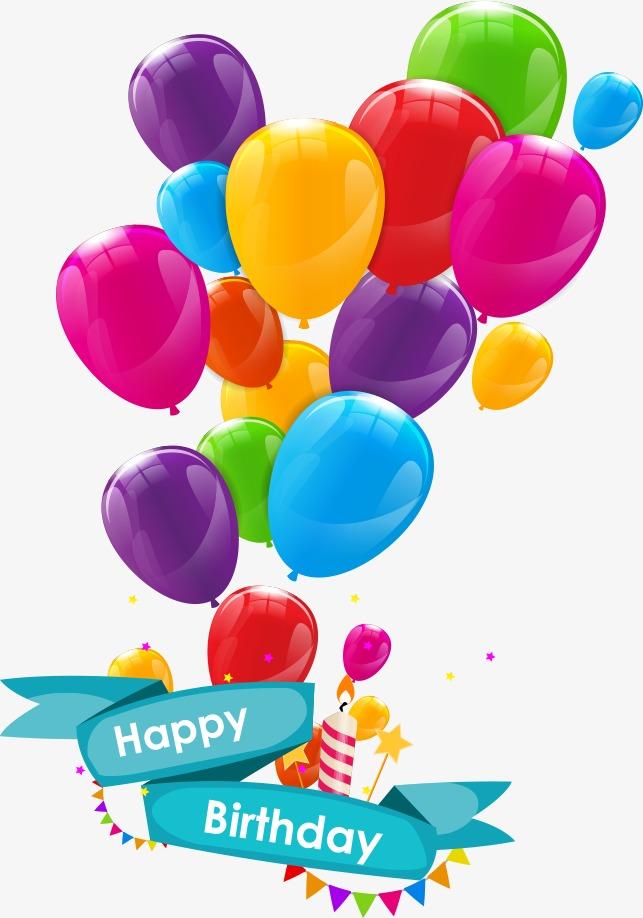 Vector cartoon balloons, Colored Balloons, Cartoon Balloons, Vector Balloon  PNG and Vector - Balloon  PNG HD