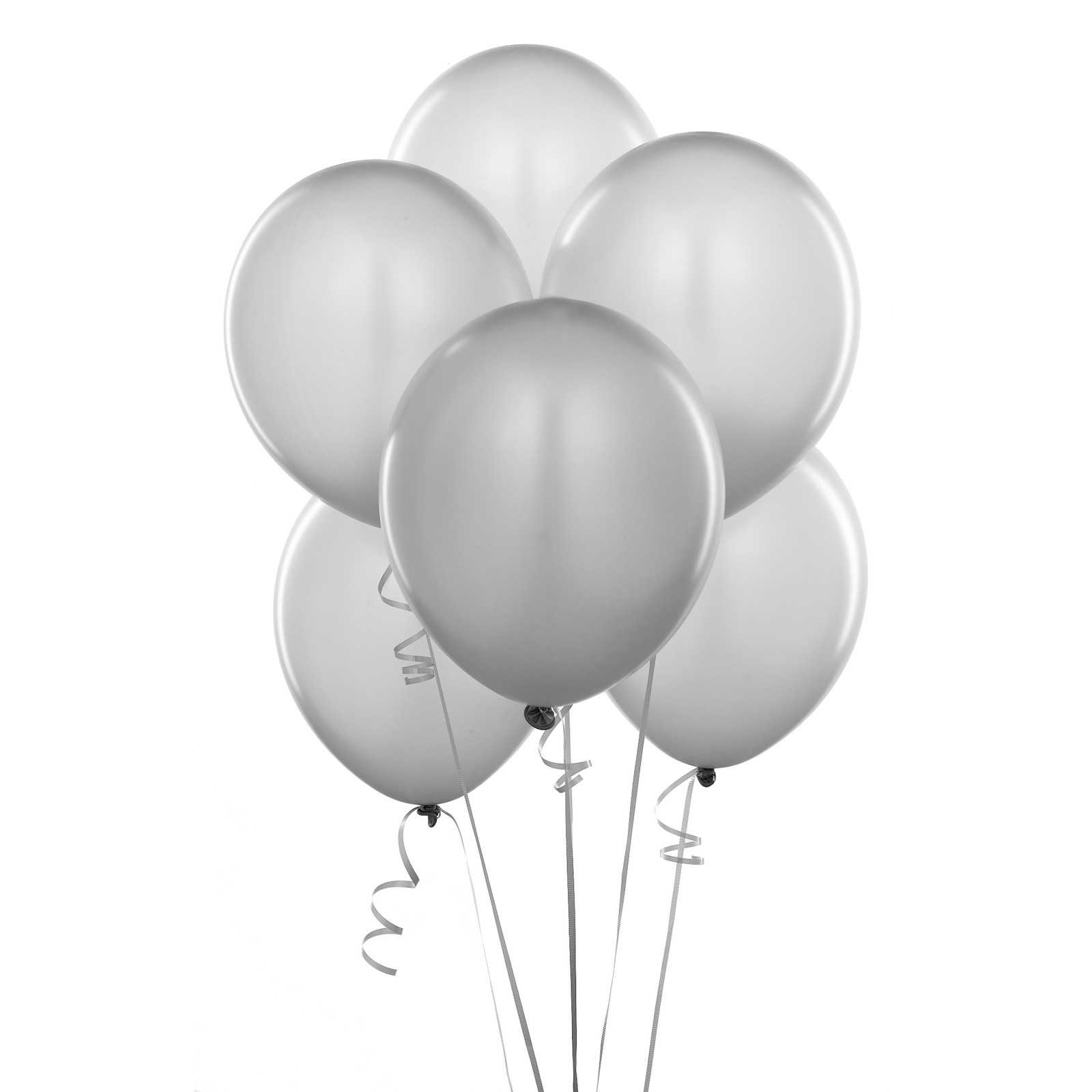 Balloons Bunch PNG Black And White - 166154