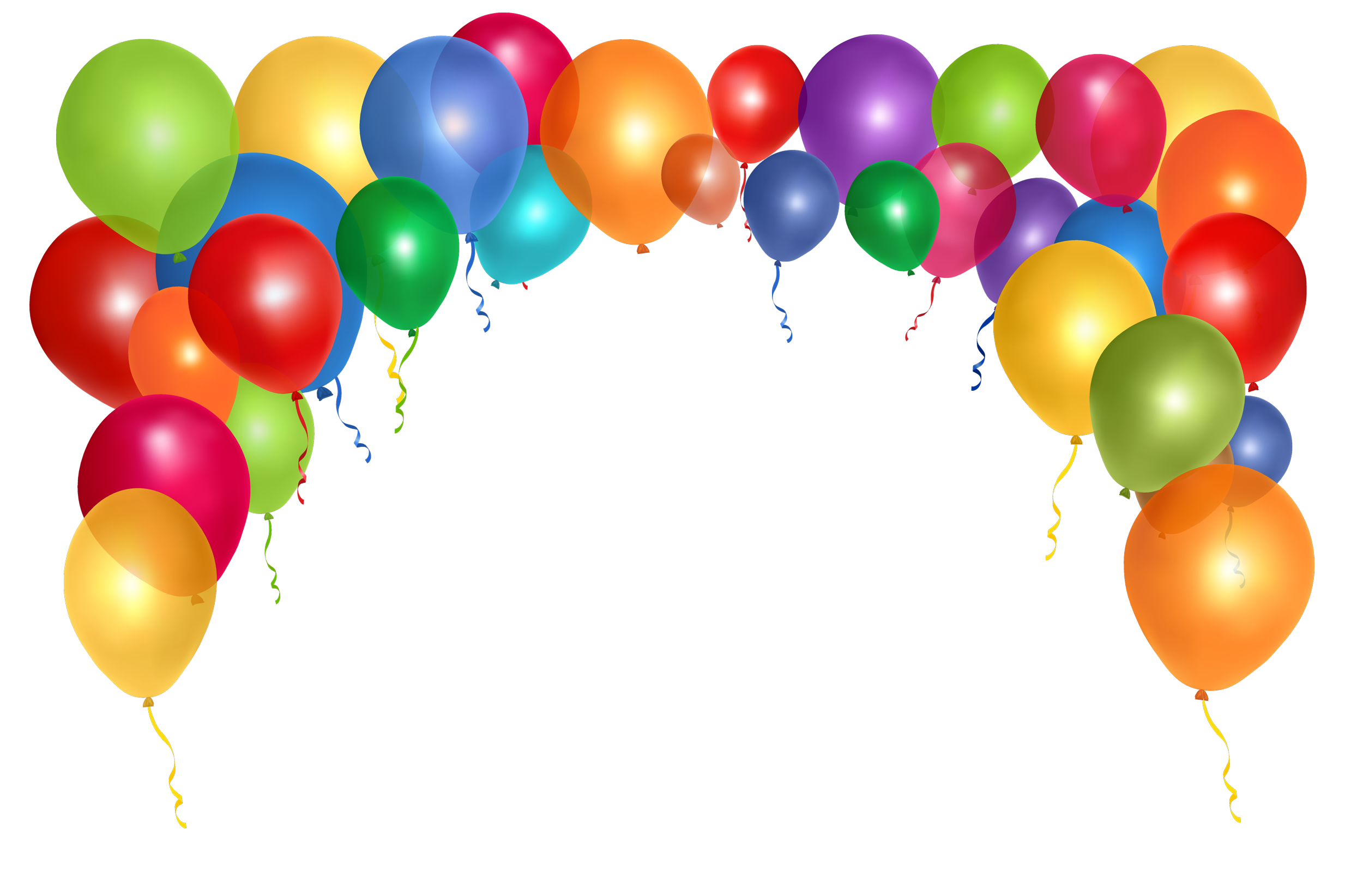 Balloons PNG Free Download - Balloon PNG
