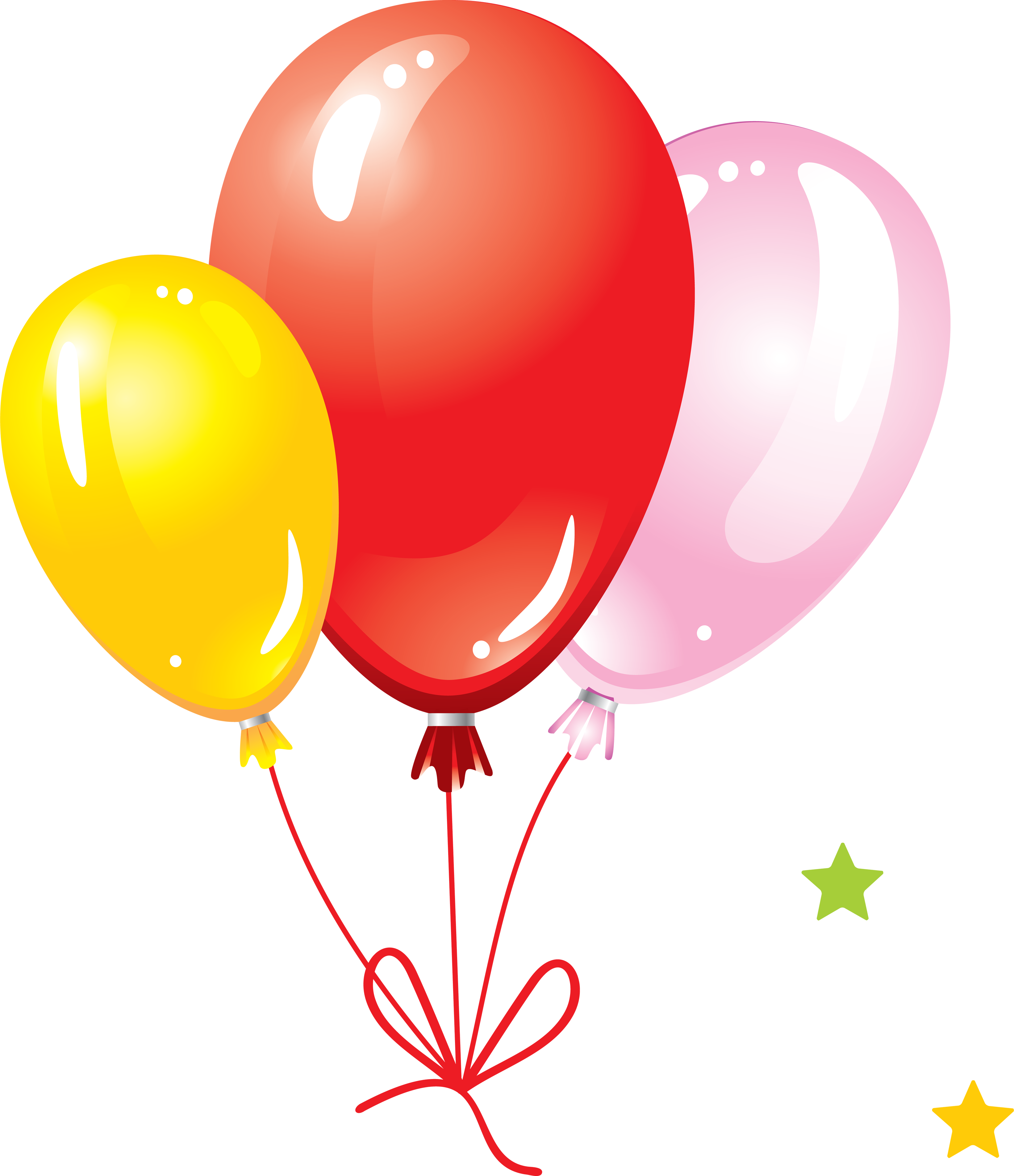 Balloons PNG HD - 121317