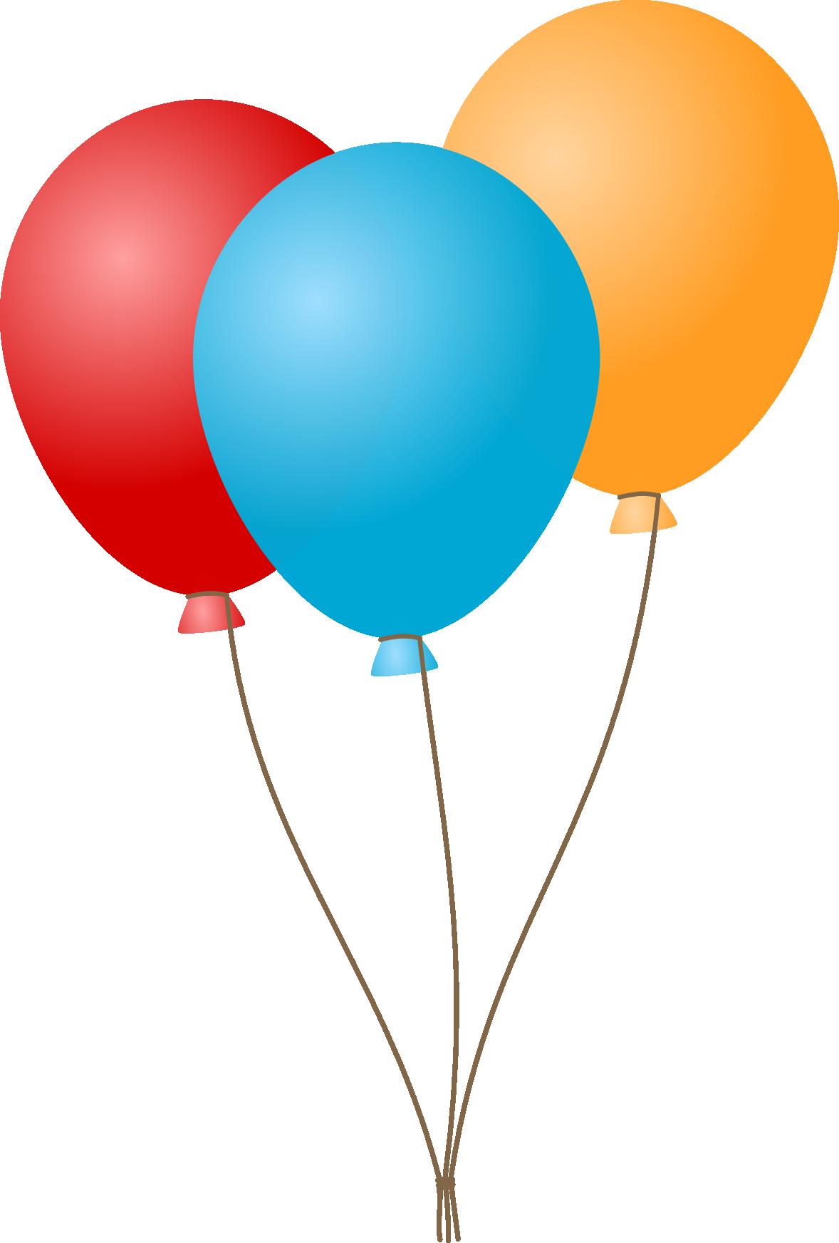 Balloons PNG HD - 121318