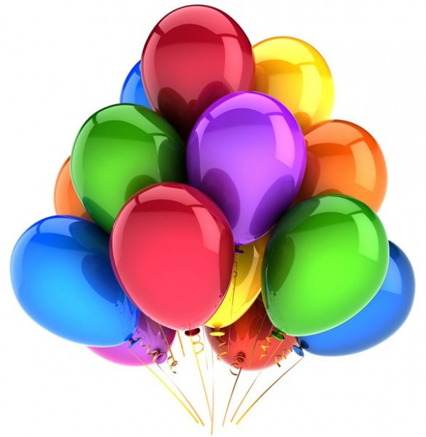 Bright Colorful HD Balloons PNG -  Balloons PNG HD