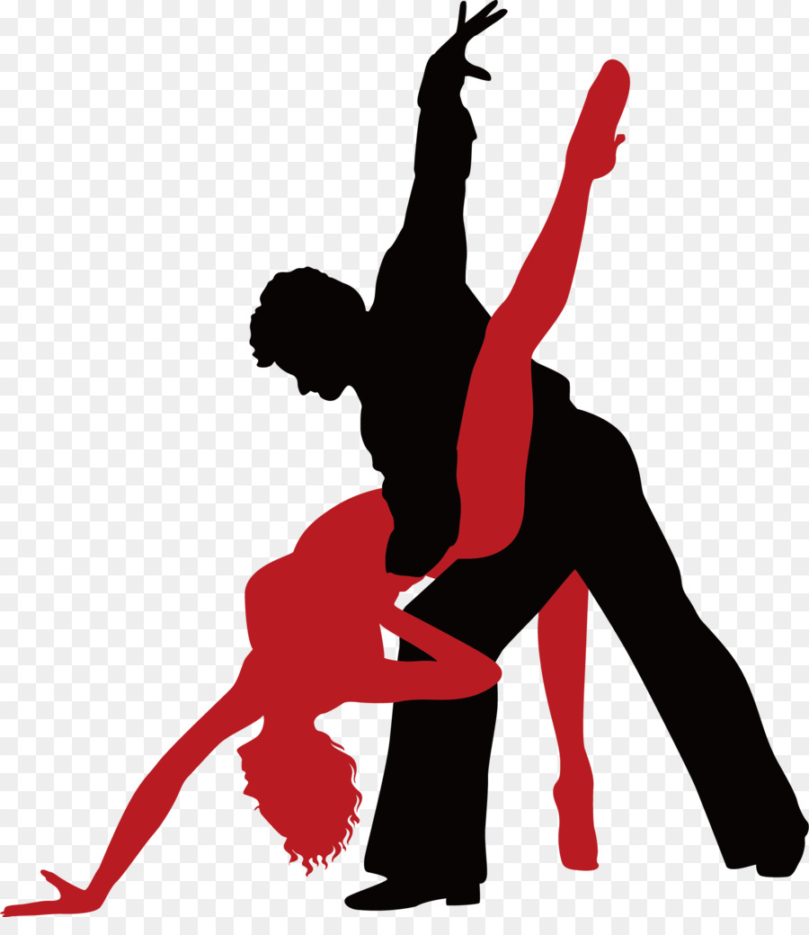 Ballroom dance Tango Royalty-free - Cute vector dancer - Ballroom Dancing PNG HD