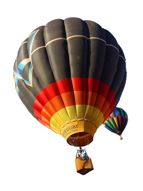 Pesawat udara yang lebih ringan dari udara disebut aerostat, yang masuk  dalam kategori ini adalah balon dan kapal udara. Aerostat menggunakan gaya  apung PlusPng.com  - Balon Udara PNG
