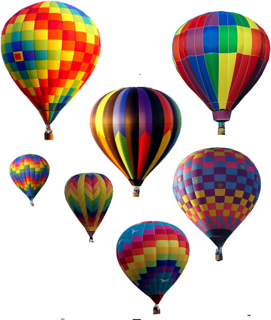 Balon Udara PNG - 82918
