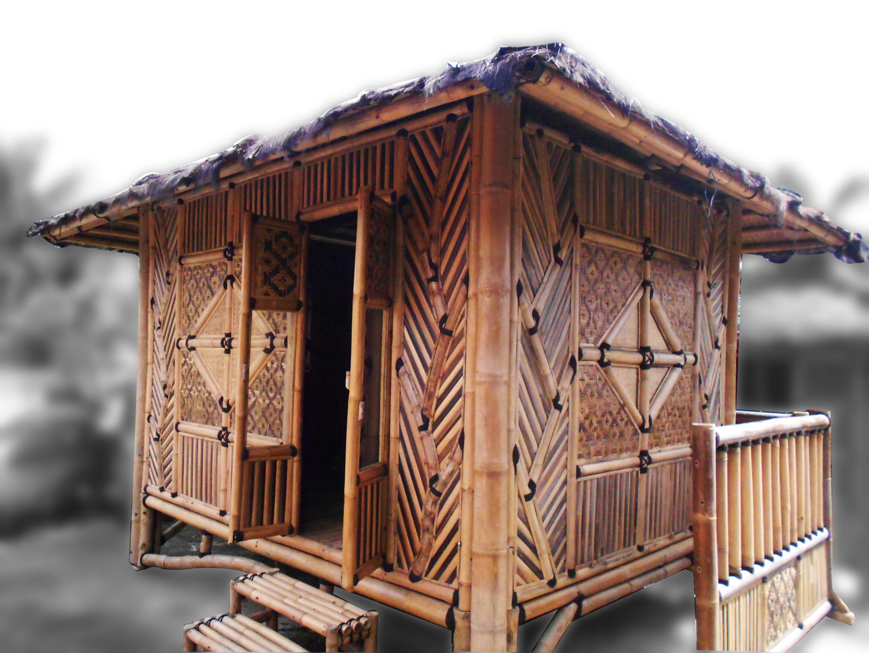 Bamboo - Bamboo Hut PNG