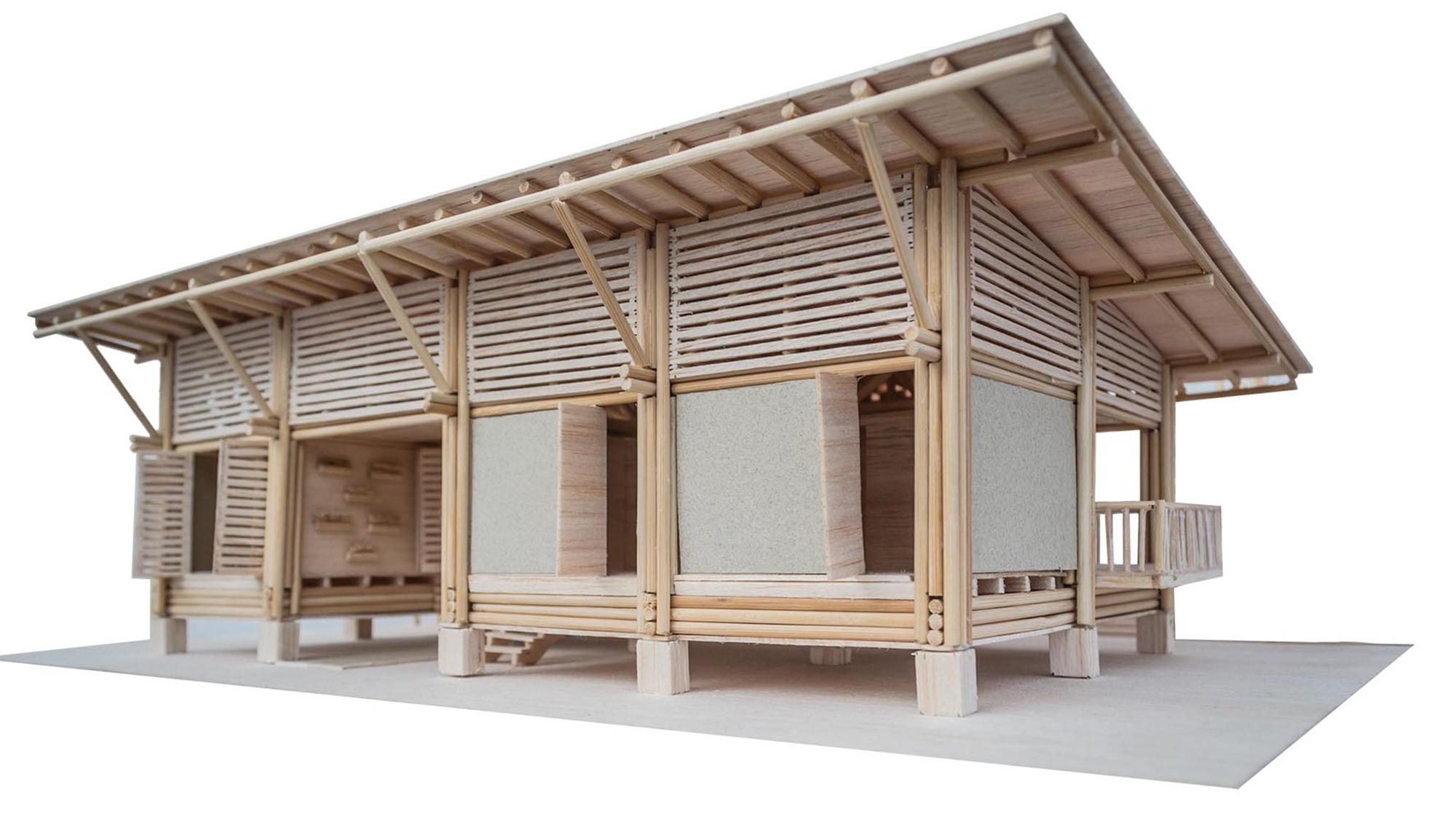 Bamboo Brilliance Bamboo Casa Covento By Architect - Bamboo Hut PNG