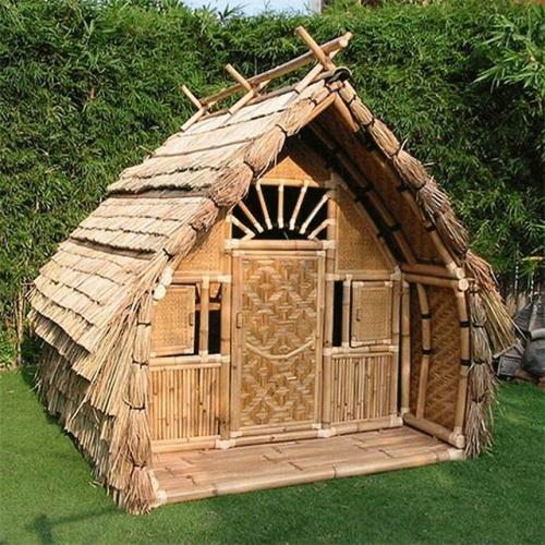 Bamboo House - Bamboo Hut PNG