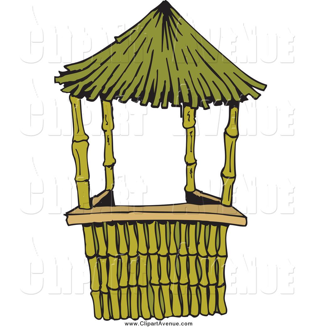 Bamboo Hut Clipart #1 - Bamboo Hut PNG