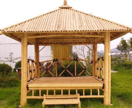 Bamboo Hut Construction - Bamboo Hut PNG