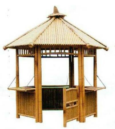 Simple Bamboo Hut - Bamboo Hut PNG