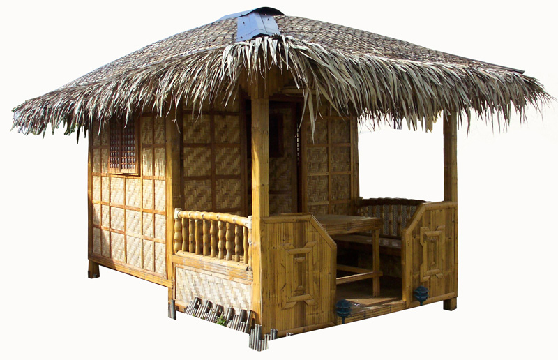 Tiki Hut with Room - Bamboo Hut PNG