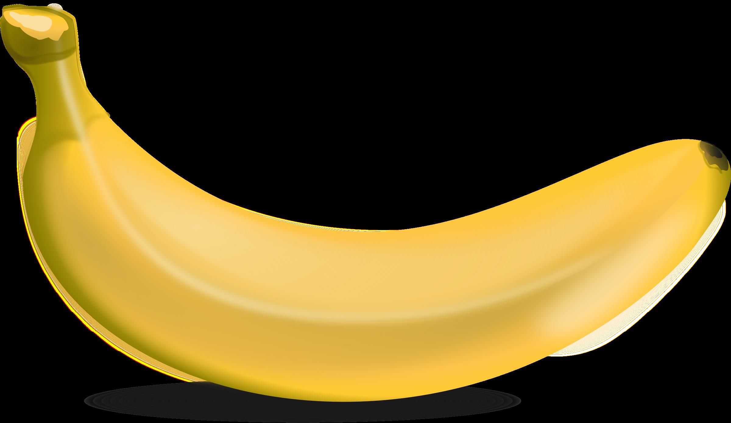 Banana Clip Art Free PNG - Banana PNG