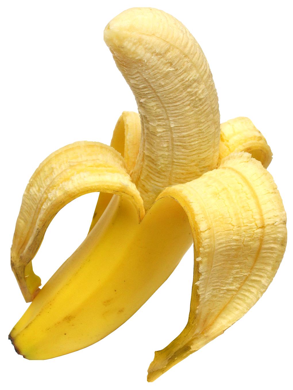 Resolution: 1020 x 1360 | Format: PNG | Keywords: Fruits, Banana, Yellow,  Open, Open Banana - Banana PNG