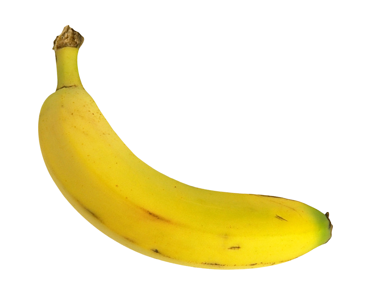 Yellow Banana PNG Transparent Image - Banana PNG