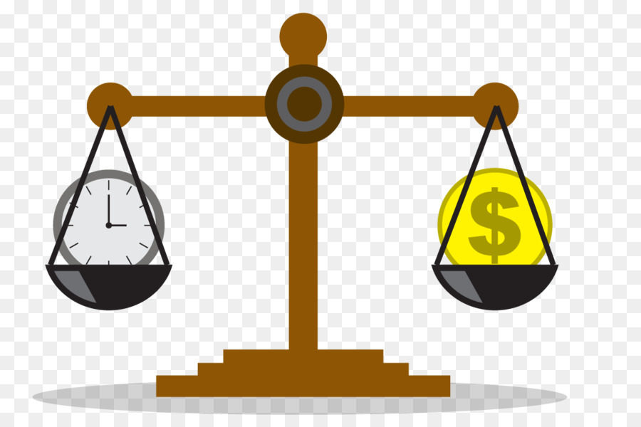 Time value of money Investment Bank - Balance scale vector free download