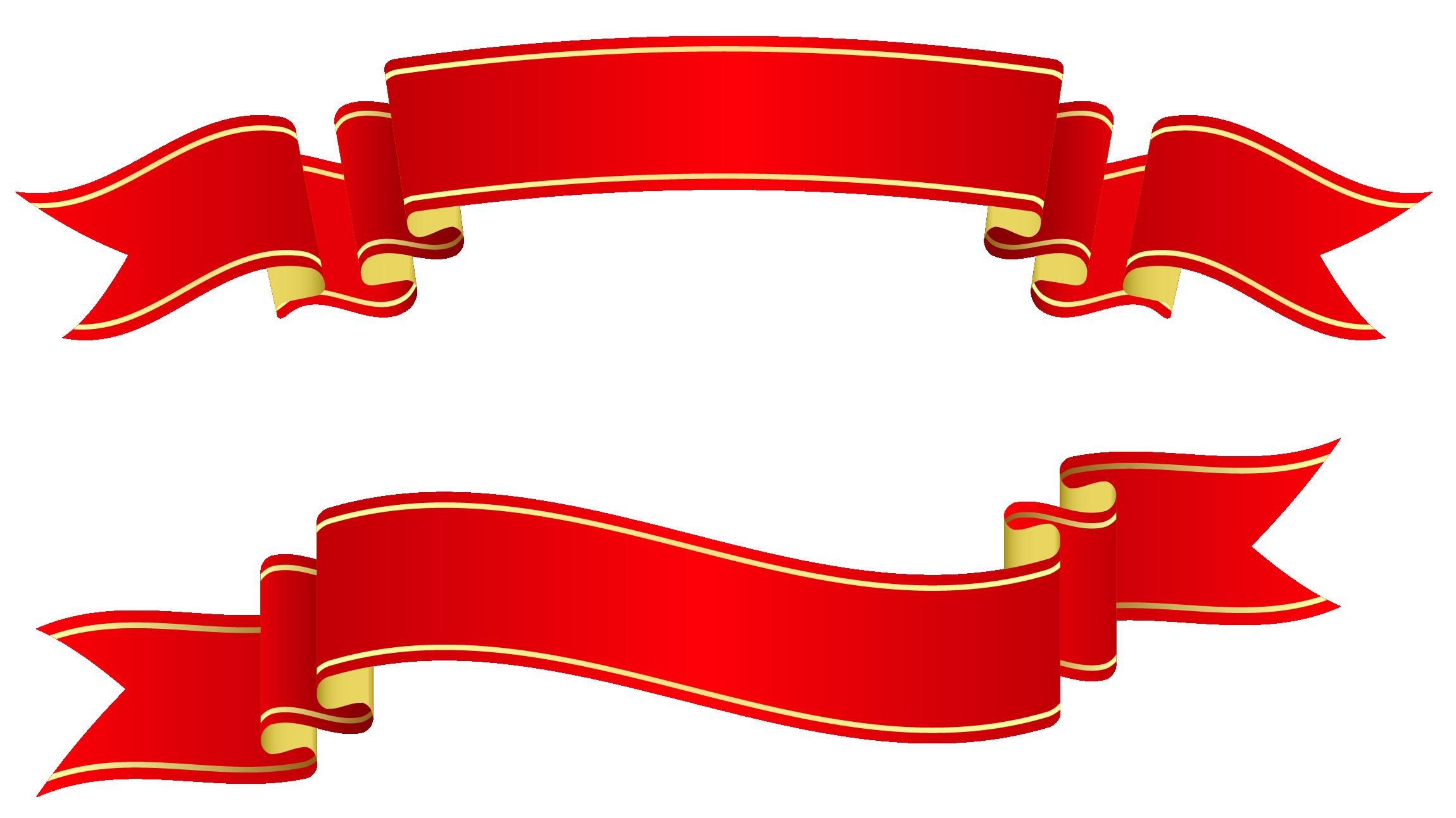 Ribbon PNG - 2597