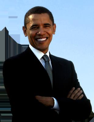 Barack Obama PNG - 866