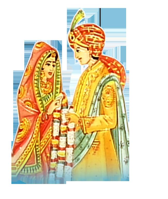 Barat wedding clipart png image free download. Resolution: 500 x 210. Size  : 218 kb. Format: PNG - Barat PNG